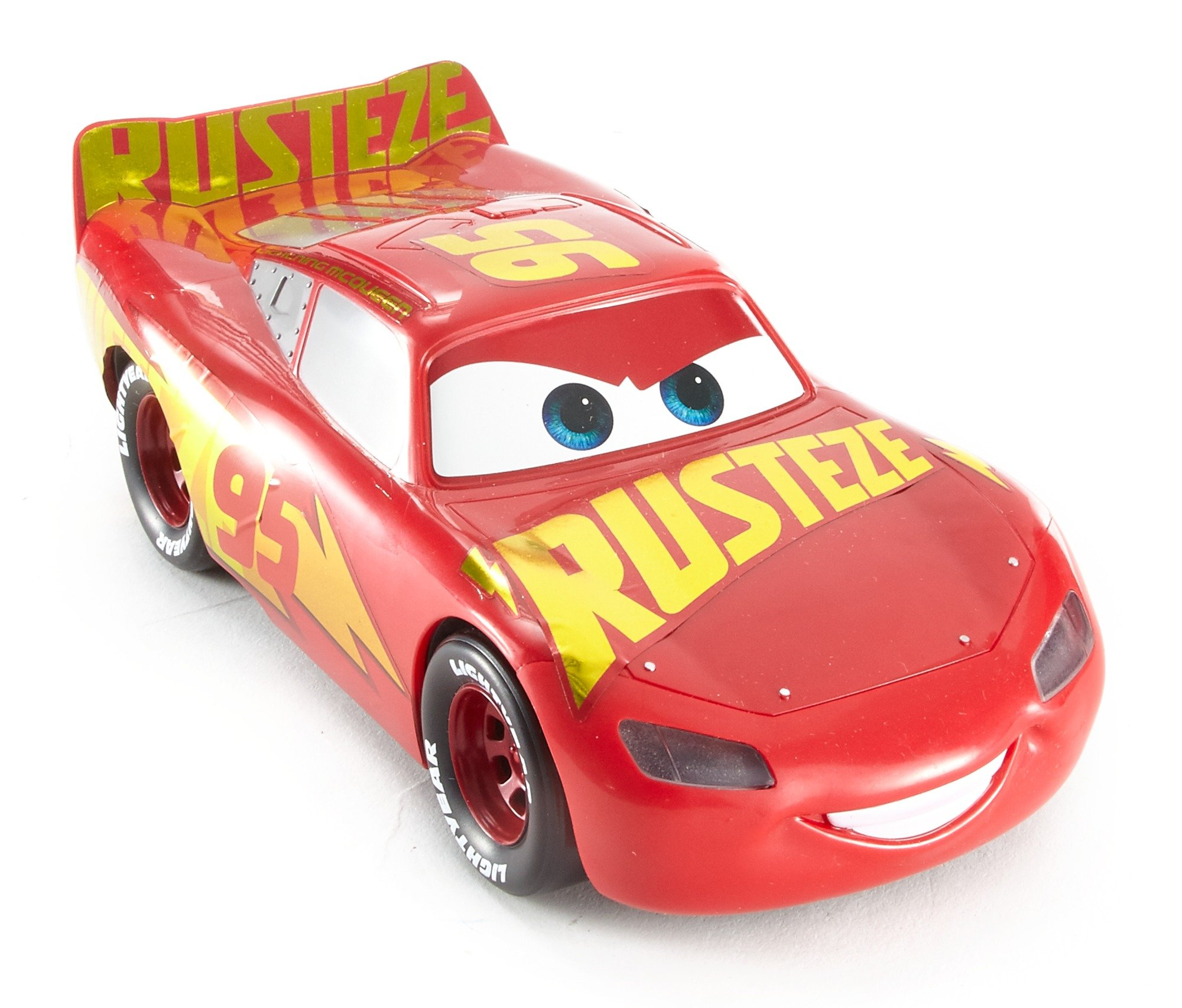 Talking Rust Eze Racing Center Lightning Mcqueen Vehicle Disney