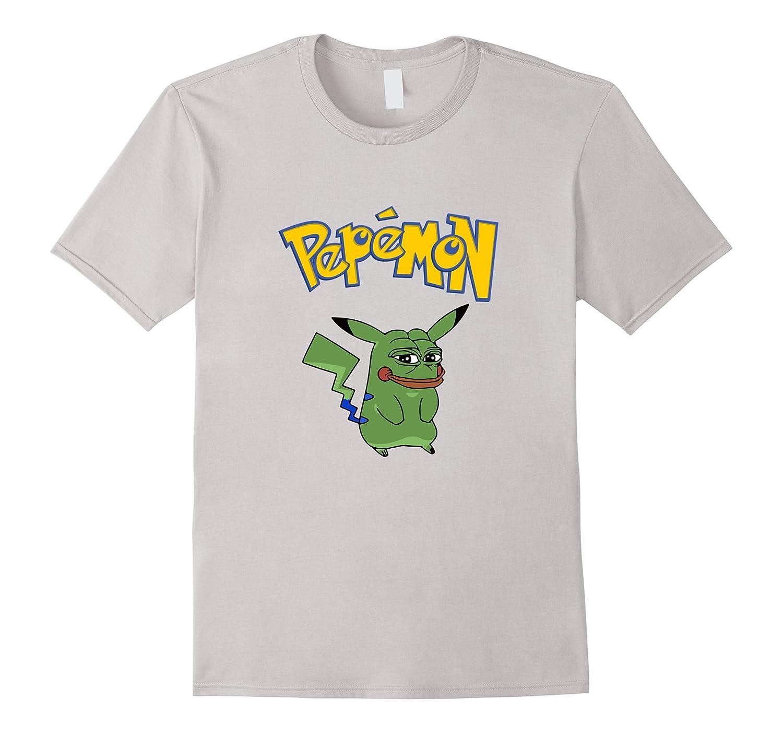 Pepemon Pepechu Ultra Rare Dank Meme Pepe Shirt Rt