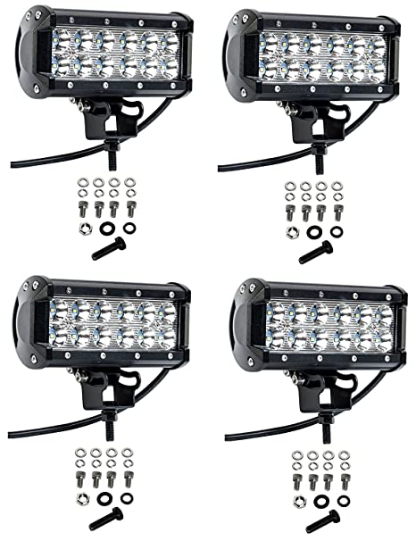 Cree Led Lights >> Cutequeen 4 X 36w 3600 Lumens Cree Led Spot Light For Off Road Rv Atv Suv Boat 4x4 Jeep Lamp Tractor Marine Off Road Lighting Pack Of 4