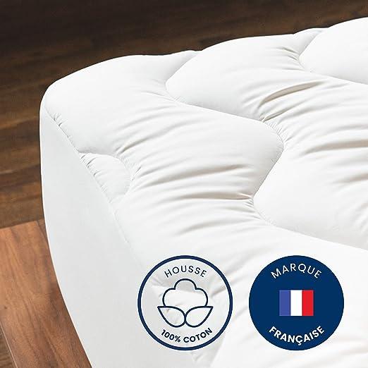 Mello – Cubrecolchón de algodón | Funda 100% algodón ...