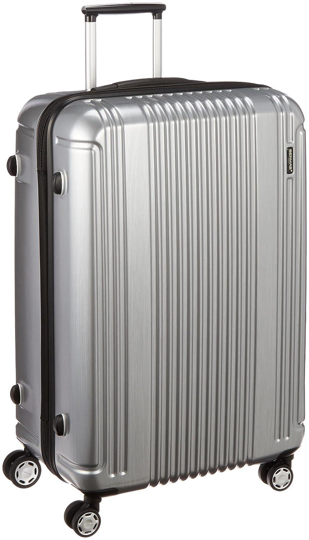 [バーマス] スーツケース プレステージ2 縦型 4輪 83L 74cm 3.9kg 60254  シルバー B01HZ6HT2I