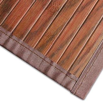 Bambusteppich Magenta (Braun)   für Bad und Wohnzimmer   natürlich ...