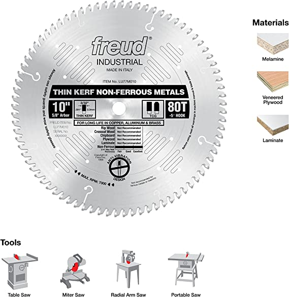 TiN Coating 2-3//4 Cutting Diameter 0.014 Width 1 Arbor Hole 1470 Style HSS KEO Milling 14807 Screw Slotting Saw 72 Teeth