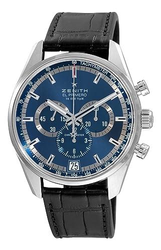 C496 reloj mecánico automático para hombre: Zenith: Amazon.es: Relojes