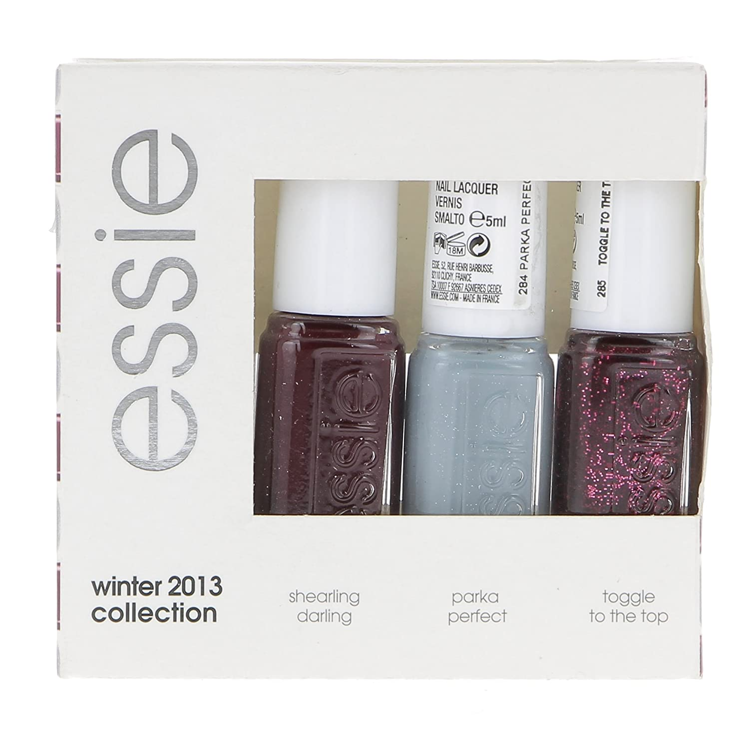 essie Original Nail Polish, Winter Collections, Pack of 3 3 x 5 ml ...
