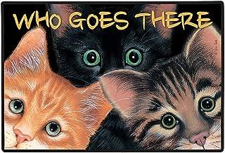 product image for Home Gift & Decor Peeping Toms Cat Cats Kitten Porch Doormat Door Mat