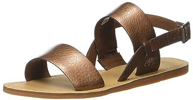 Timberland Damen Carolista Ankle Thongcopper Metallic Knöchelriemchen, Braun (Copper Metallic), 38 EU