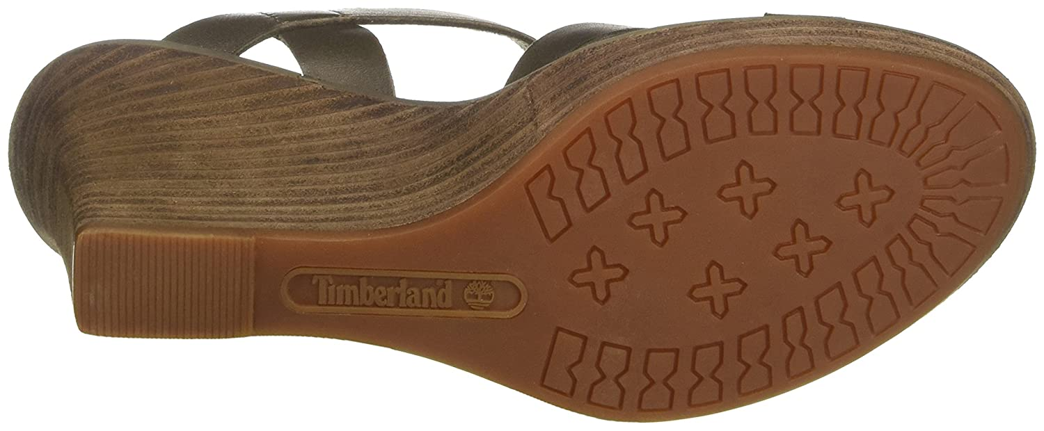 sandales compensées timberland
