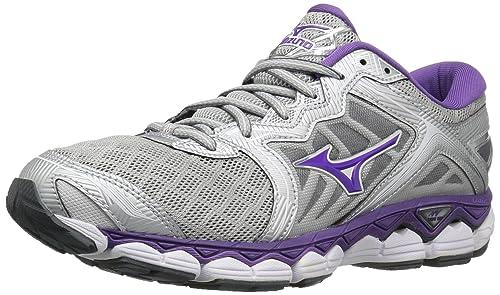 MizunoMizuno Womens Wave Sky Running Shoes - Zapatillas de Running Mizuno Wave Sky para Mujer para
