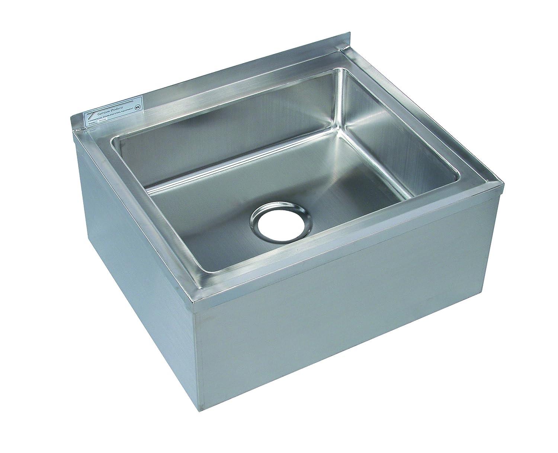 Amazon.com: Tarrison MS16206 Heavy Duty Stainless Steel Mop Sink ...