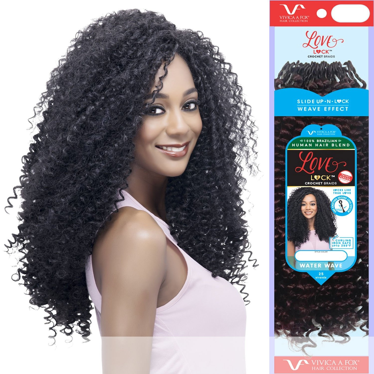 Amazon Vivica A Fox Lovelock Water Wave Braid Human Hair
