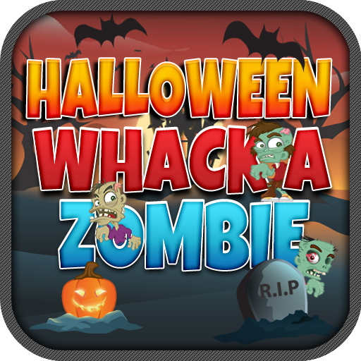 Whack A Zombie Halloween Kids Game -
