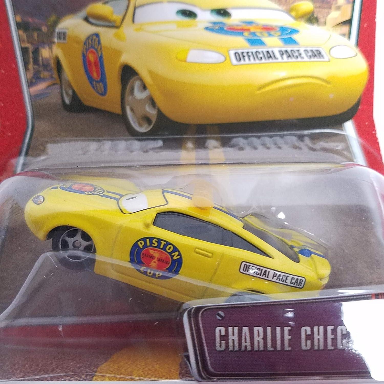 65 NEW ~ DISNEY PIXAR ~ WORLD OF CARS ~ CHARLIE CHECKER ~ Collectible No