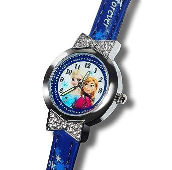 Dunns - Reloj de Dibujos Animados para niña