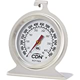 CDN High Heat Oven Thermometer, Silver