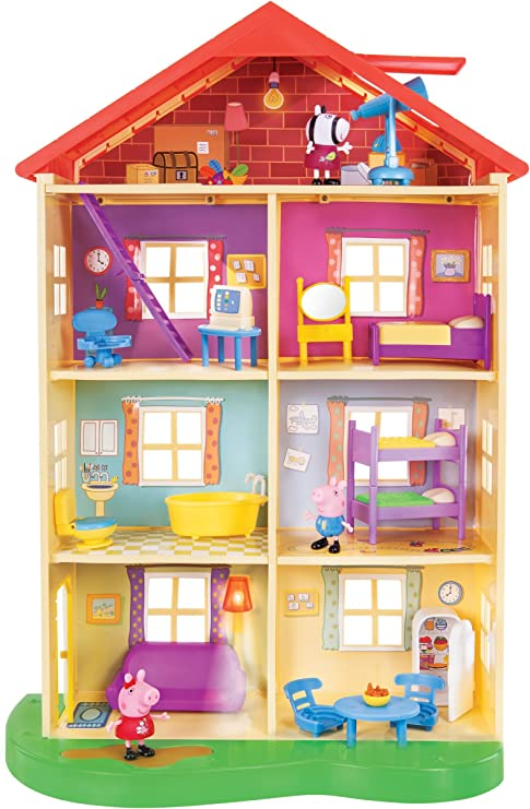 Peppa Pig princesa castillo Playset: Amazon.es: Hogar