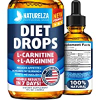 Weight Loss Drops - Made in USA - Best Diet Drops for Fat Loss - Effective Appetite...