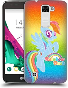 Head Case Designs Officially Licensed by My Little Pony Rainbow Dash Rainbow Vibes Hard Back Case Compatible with LG K7 K330 / Tribute 5