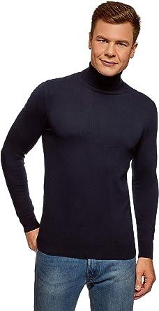 oodji Ultra Hombre Jersey B/ásico de Algod/ón