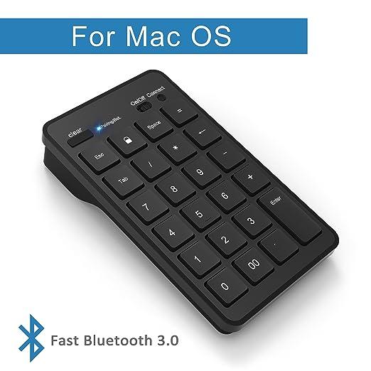 19 opinioni per Cateck Tastierino numerico Bluetooth Wireless a 23 Tasti, tastiera numerica