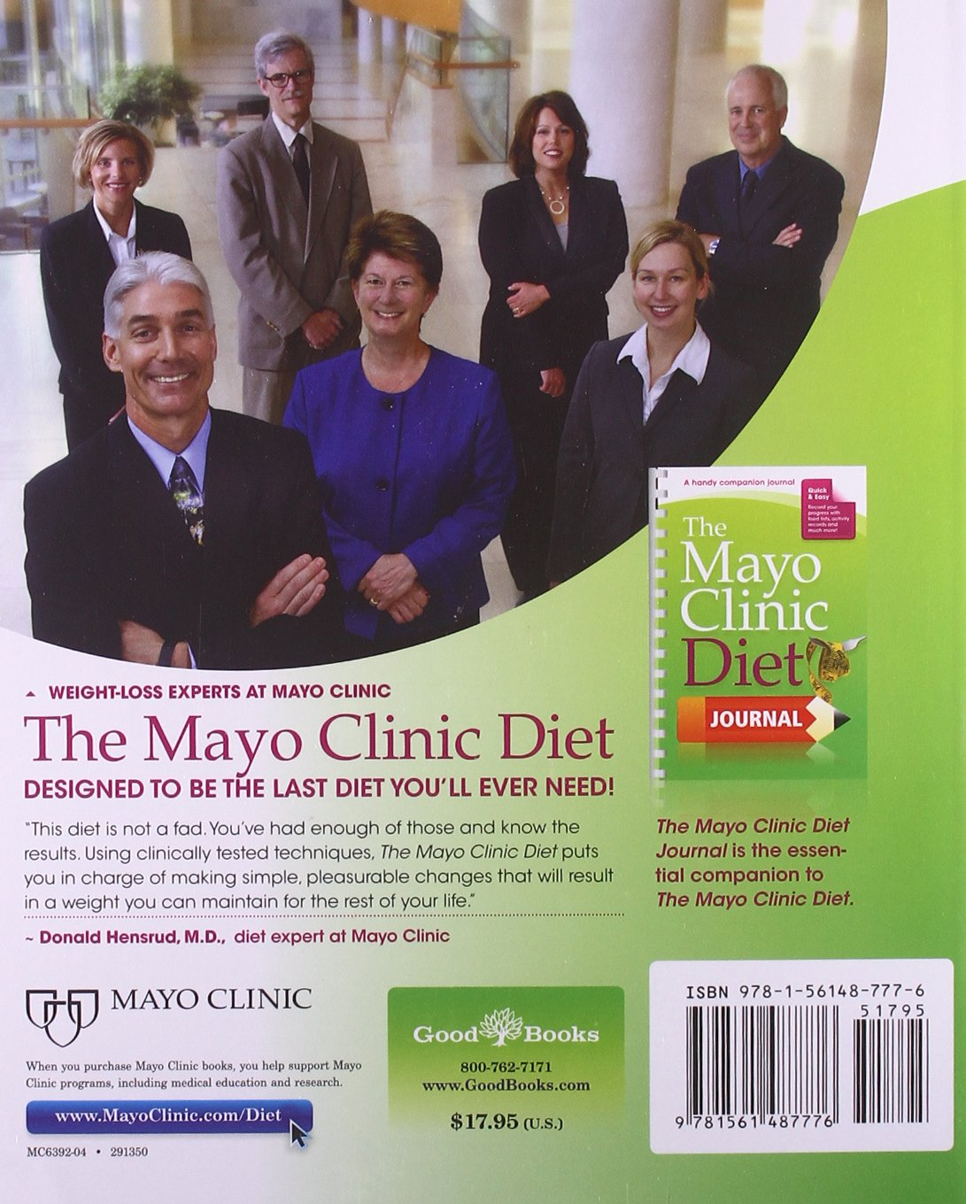 The Mayo Clinic Diet: Eat well  Enjoy Life  Lose weight : the weight