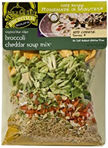 Frontier Soups Homemade In Minutes Soup Mix, Virginia Blue Ridge Broccoli Cheddar, 5 Ounce