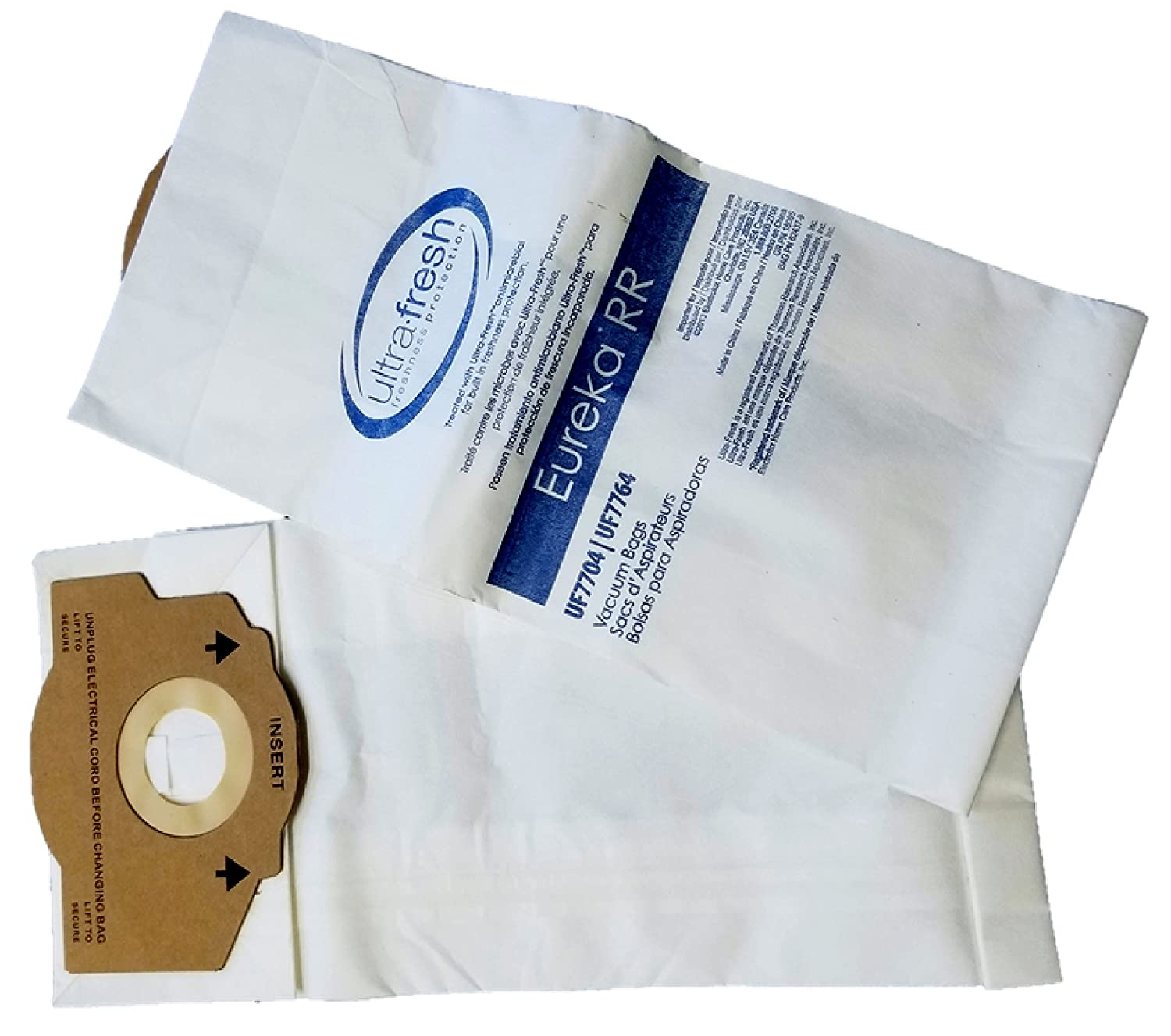 63295A Compare To Part # 61115 12 Eureka Style RR Vacuum Bags Designed to Fit Eureka Boss 4870 Series Upright Vacuums 61115B 61115A 62437 by Electrolux Home Care Products Inc.