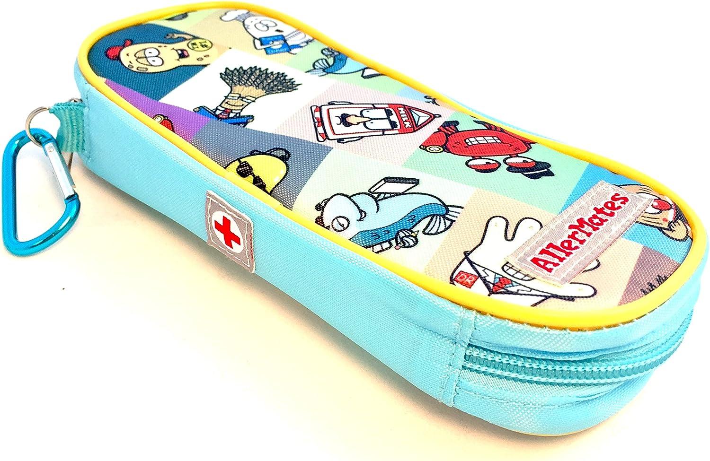 AllerMates - Funda de transporte para niños para alergias médicas EpiPen o Auvi-Q y Benadryl: Amazon.es: Oficina y papelería