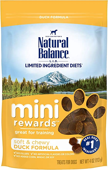 The Best Nature Balance Dog Treat Duck