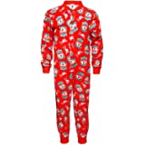 Liverpool FC Official Football Gift Boys Kids Pyjama Onesie