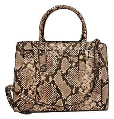 c3f01c434b30 Michael Kors DILLON Top Zip Medium East/West Satchel Leather Handbag ...