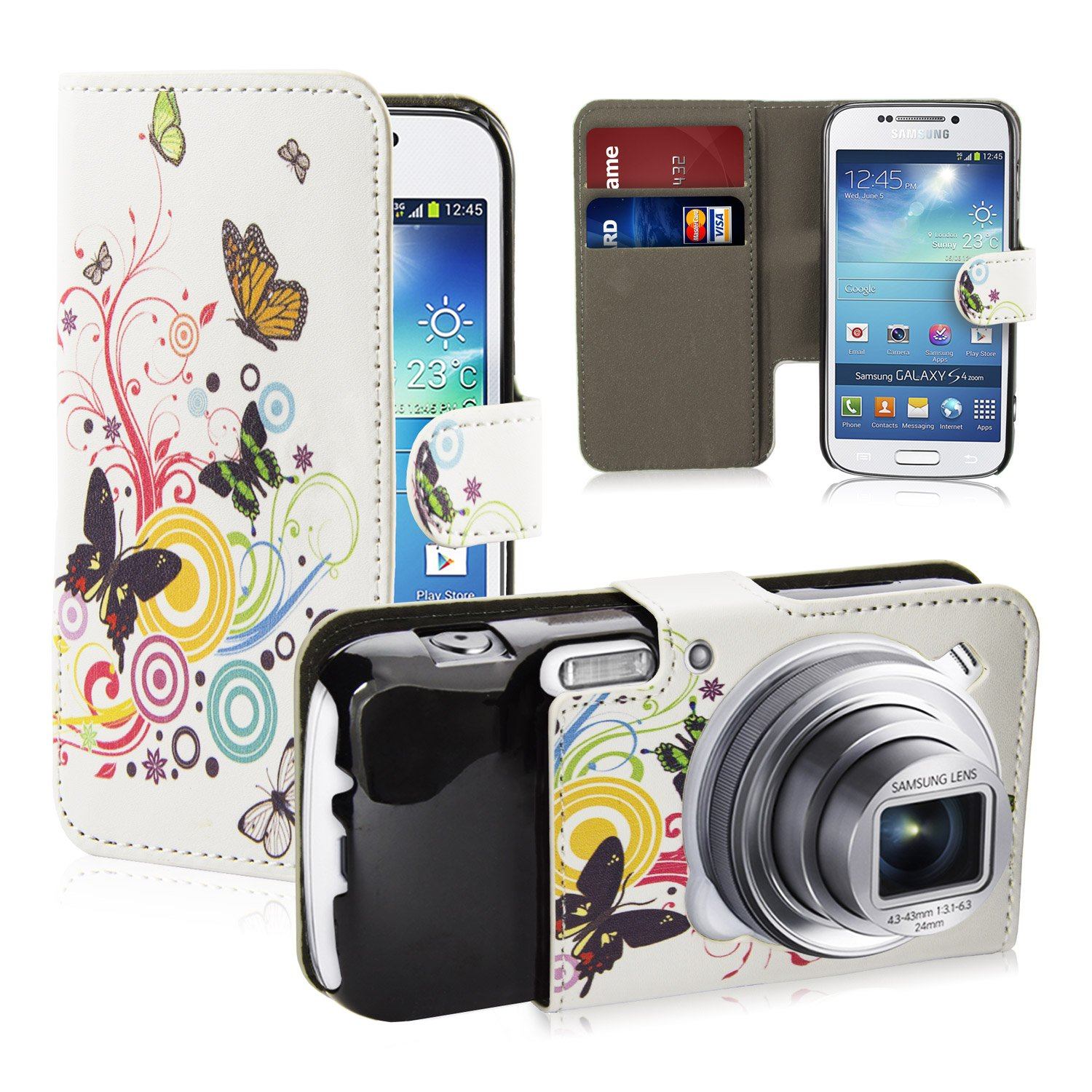 Case for Samsung Point and Shoot Digital Camerawith Screen Protector