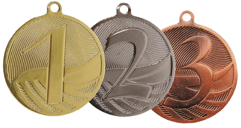 Medaille D=50mm in Gold, Silber und Bronzefarben Medaille D=50mm Nr.3 bronze SRK