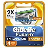 Gillette Fusion Men's ProGlide Power Razor Blades - 4 Blades