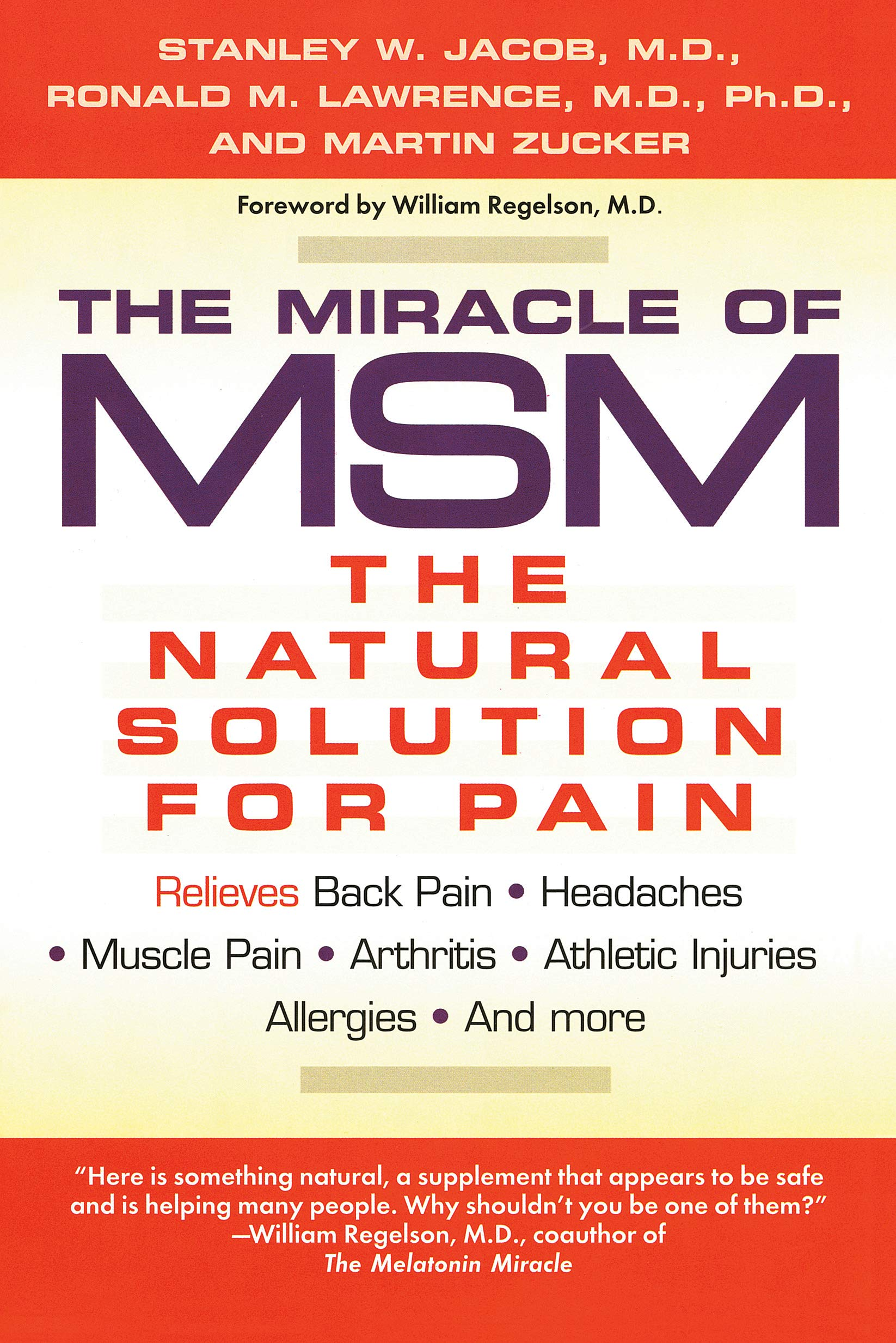 The Miracle of Msm: The Natural Solution for Pain: Amazon.es: Stanley W. Jacob: Libros en idiomas extranjeros