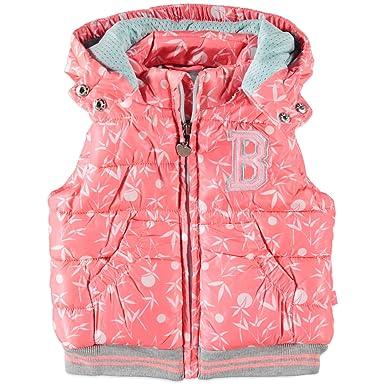 ff8b8625a2f Babyface Girls' Down Gilet Neon Orange: Amazon.co.uk: Clothing