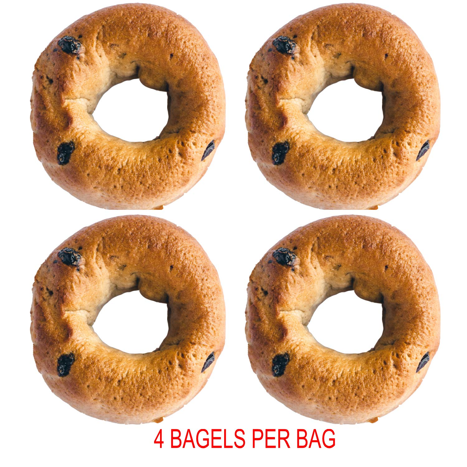 Greater Knead Gluten Free Bagel - Cinnamon Raisin - Vegan, non-GMO, Free of Wheat, Nuts, Soy, Peanuts, Tree Nuts (12 bagels) by The Greater Knead (Image #4)