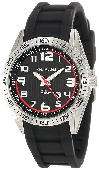 Reloj Viceroy Real Madrid 432830 - 55 Niños y Jóvenes Negro: Amazon.es: Relojes