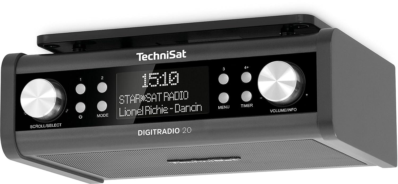 TechniSat Digitradio 20 Küchenradio (DAB+, Unterbau-Radio, Timer ...
