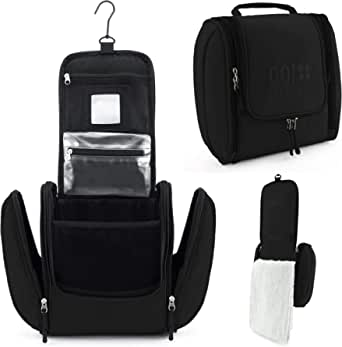 GO!elements® Toiletry Bag for Hanging up Men & Women   Cosmetic Bag Big Man & Ladies for suitcases & Hand Luggage   wash Bag Travel Bag