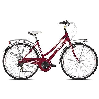 """'Torpado vélo City fenice Next 28""""Femme Alu 3x 7V taille 44Bordeaux (City)/Bicycle City fenice Next 28Lady alu 3x 7S Size 44Bordeaux (City)"""
