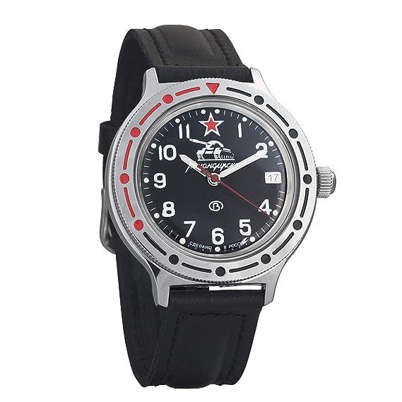 Reloj ruso automático de muñeca, 921306 KOMANDIRSKIE 2416b, de Vostok: Amazon.es: Relojes