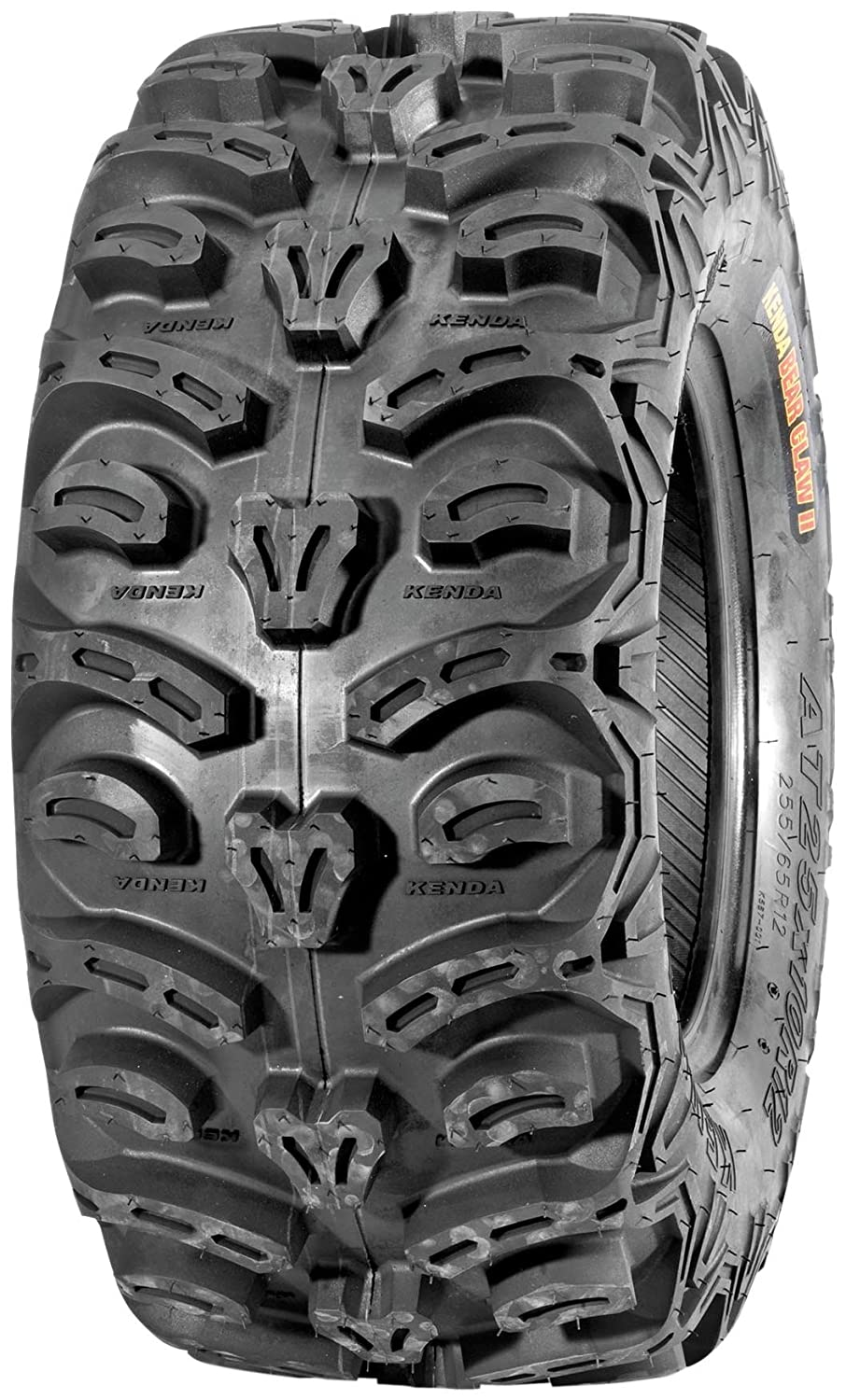 25//10R12 D Kenda K587 Bear Claw Trail//Hardpack ATV Radial Tire