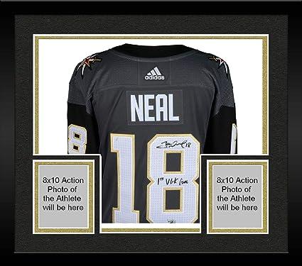 buy online 1e8b1 8d079 Framed James Neal Vegas Golden Knights Autographed Black ...