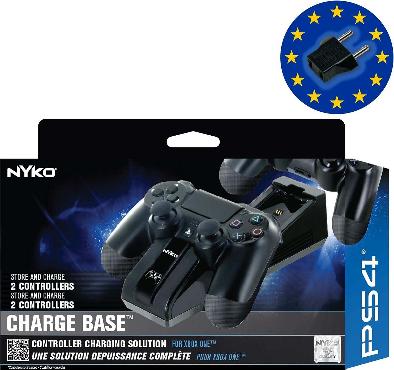 Nyko PS4 USB Charge Base by Nyko: Amazon.es: Videojuegos