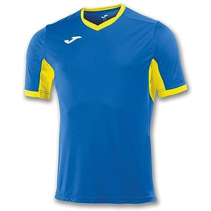 Joma Teamwear T-Shirt Champion IV Short Sleeves Royal-Yellow