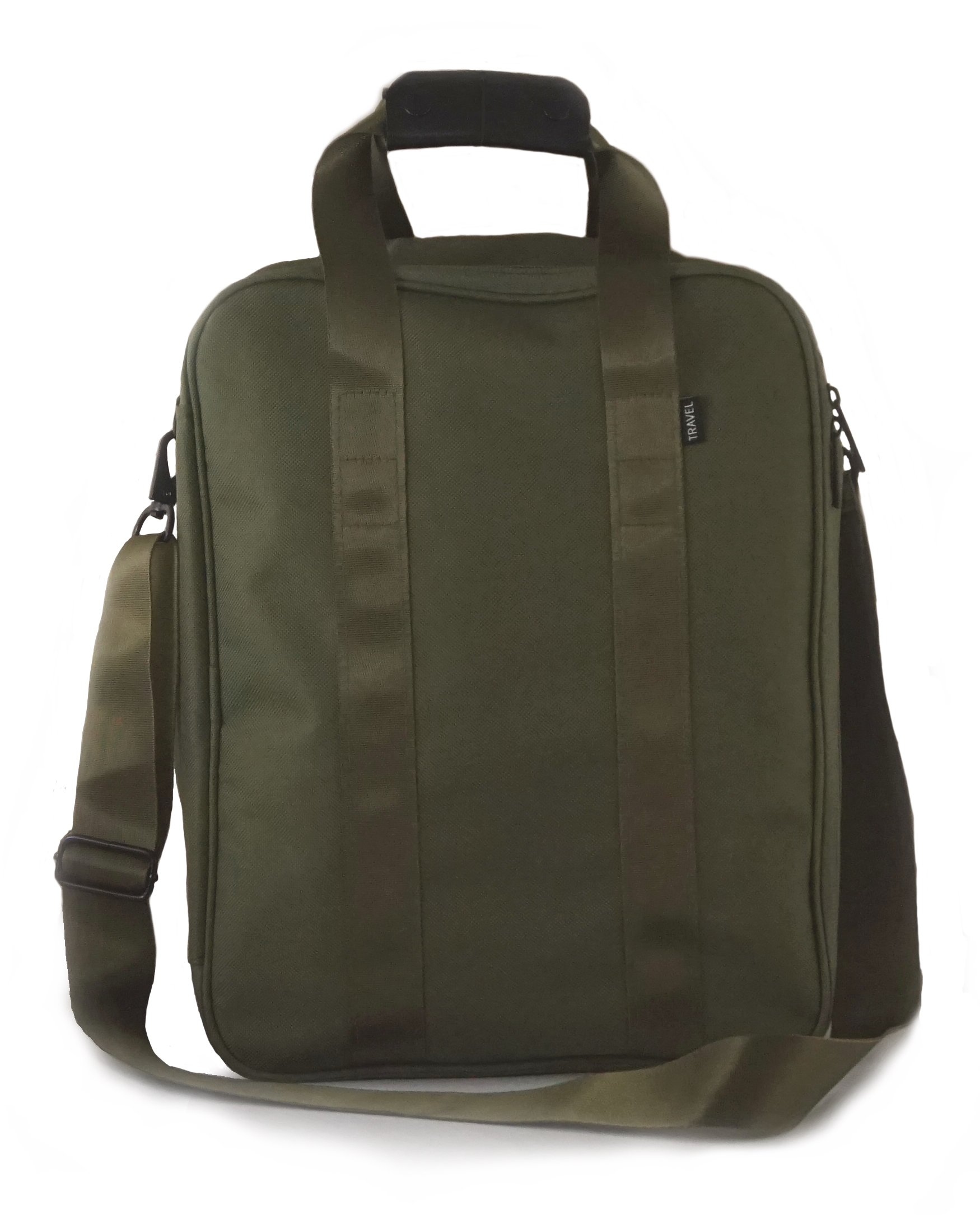 Simplily Unisex-Adult Travel Carry-on Under the Seat Luggage Bag, Army Green