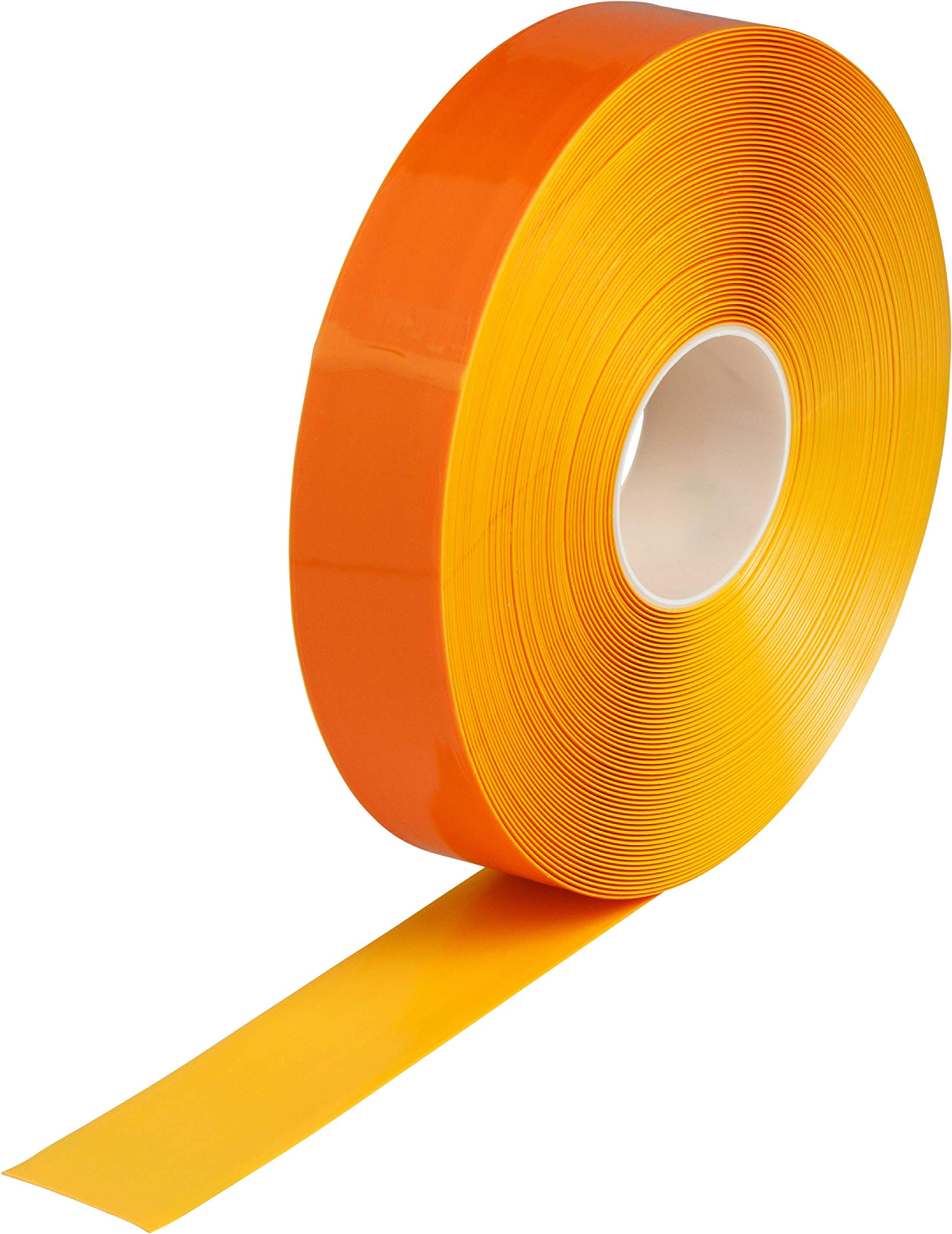 Brady ToughStripe Max Thick Floor Marking Tape - Rugged Facility Floor Marking Tape - 2 in. Width, 100 ft. Length - Yellow