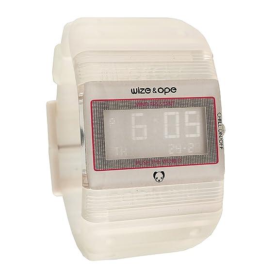 Wize & Ope WO-77-7 - Reloj Digital Unisex, Correa de ...