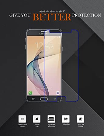 XORB reg; Tempered Glass Premium HYGRID Tech Screen Guard for Samsung Galaxy On Nxt Scratch Protector Screen Protectors